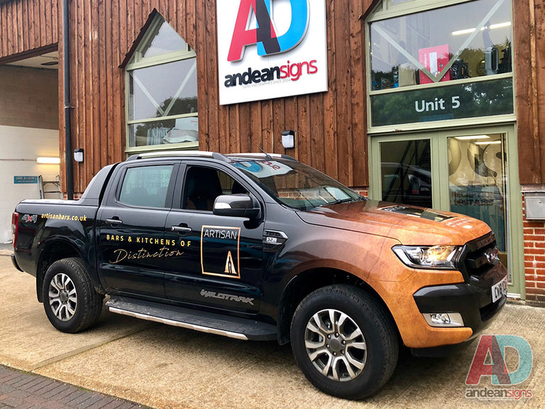 Ford Ranger - Full Wrap with digitally printed design