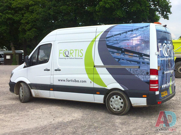 Fortis Mercedes Sprinter wrap