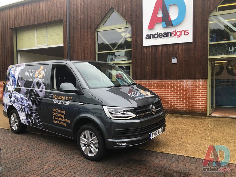 VW Transporter half wrap for Norjon