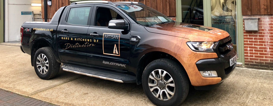 Ford Ranger - vehicle wrap
