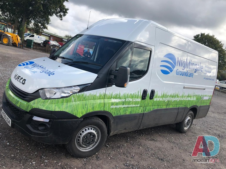 Iveco, Vinyl graphics and digital print