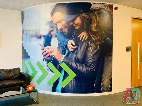 Park Now - Digitally printed wall graphics