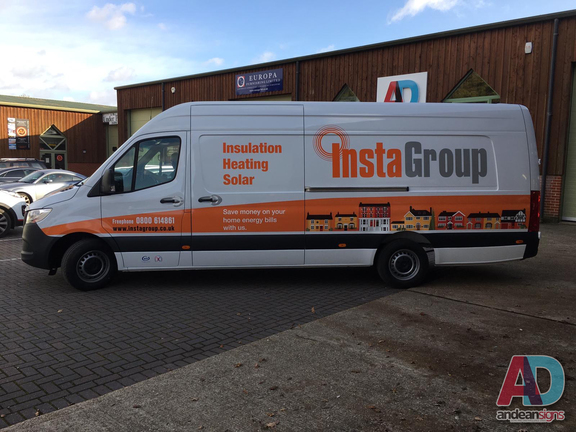 Instagroup - Mercedes Sprinter - Vehicle Graphics, Vehicle Wrapping