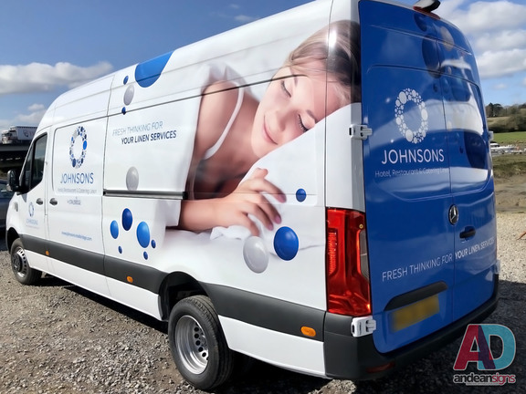 Mercedes Sprinter Half Wrap
