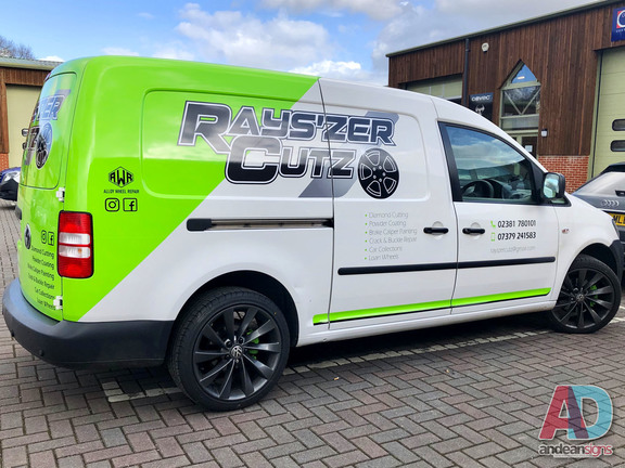 Volkswagen Caddy - Half Wrap