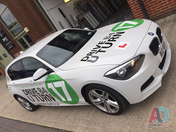 BMW 1 series - Vinyl vehicle graphics