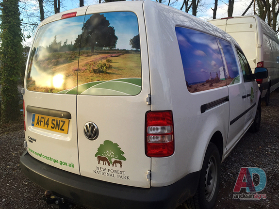 VW Caddy - Vehicle graphics & wrapping