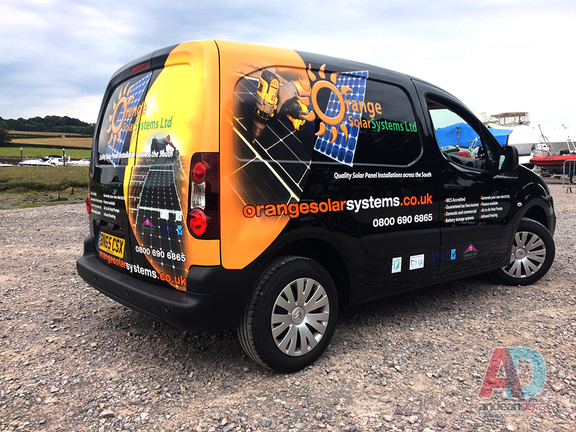 Citroen Berlingo - Vehicle graphics & Wrapping
