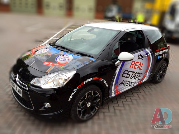 Citroen DS 3  vehicle graphics and wrapping