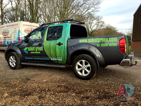 Nissan Navara - Vehicle Graphics and Wrapping