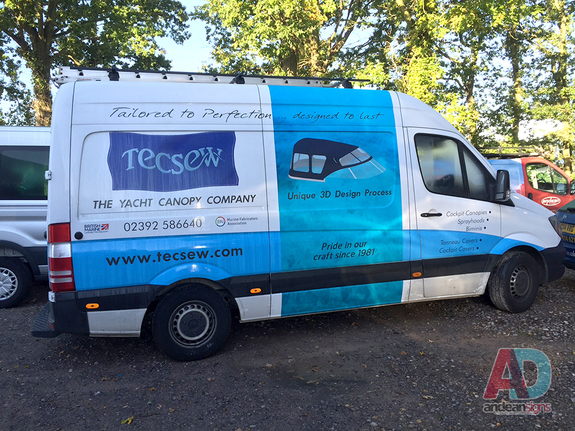 Tecsew - Mercedes Sprinter vehicle graphics & Wrapping