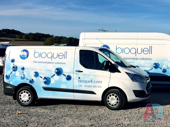 Bioquell - Ford Custom full vehicle wrap
