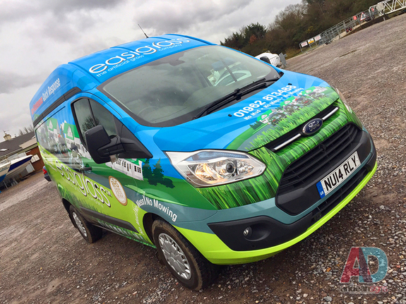 easigrass, Ford Custom complete vehicle wrap