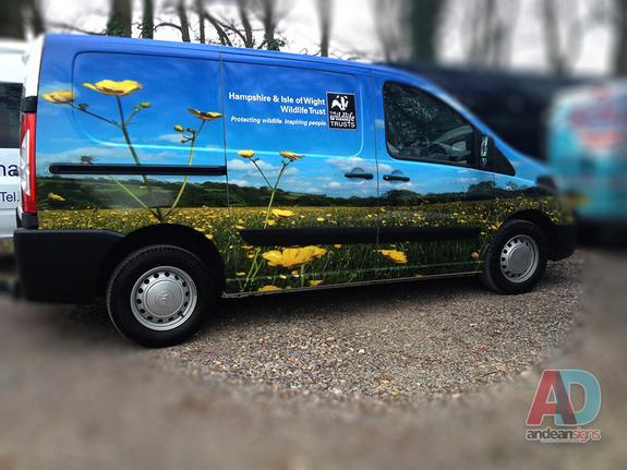 Wildlife Trust - Citroen Dispatch Wrap