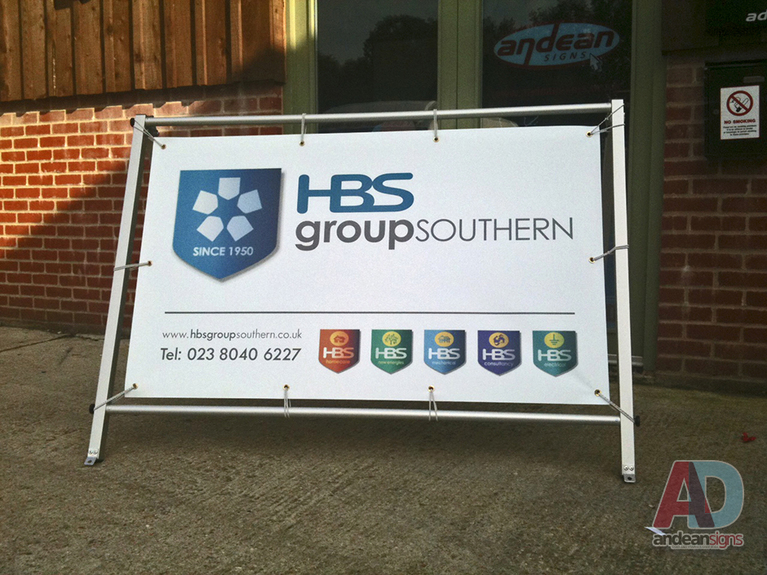 Digitally Printed PVC Event Banner