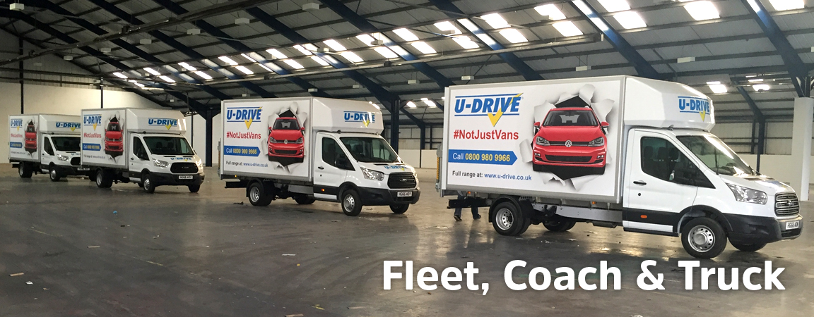 Fleet, Coaches and Truck vinyl graphics and prints