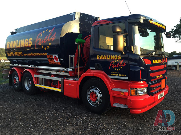 Rawlings Fuels - Scania - Vehicle Graphics