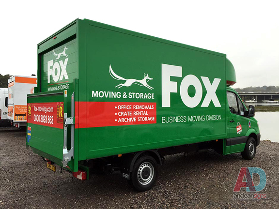 Fox -  Mercedes Luton - Vehicle Graphics