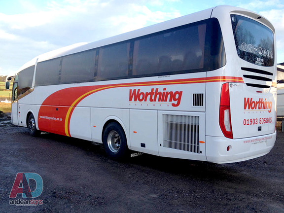Worthing Coaches - Vinyl Graphics