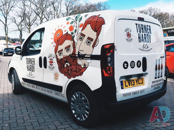 Turner Hardy & Co - Citroen Nemo vehicle graphics