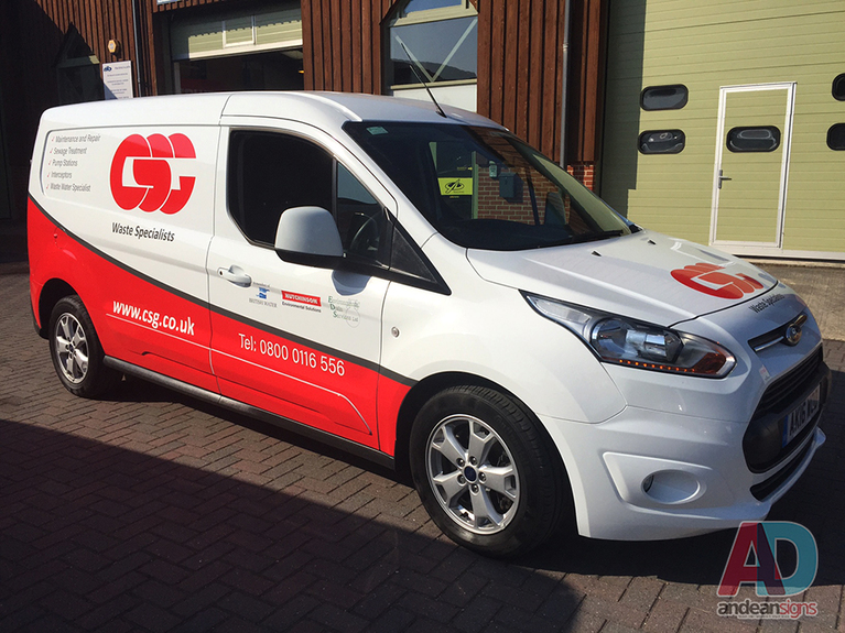 CSG - Ford Connect, Vehicle Graphics & Wrapping