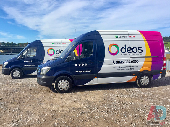 Deos - Mercedes Sprinter Vehicle Wrap and Graphics