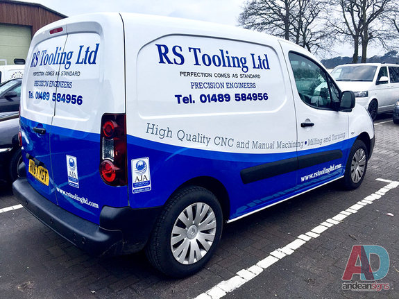 RS Tooling, Citroen Berlingo vehicle wrap and graphics