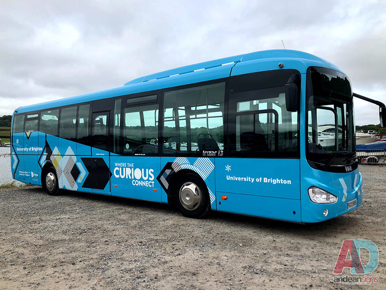 Brighton University Coach Wrap